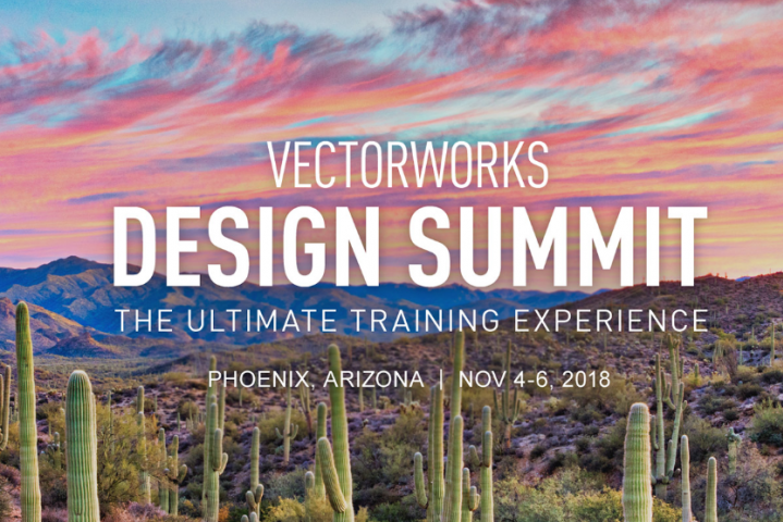 Vectorworks Design Summit 2018 Discount Code
