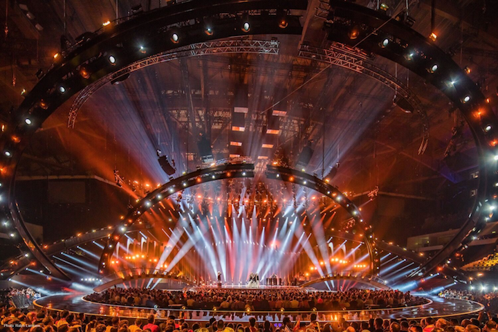 Claypaky Eurovision Song Contest 2018 Lighting