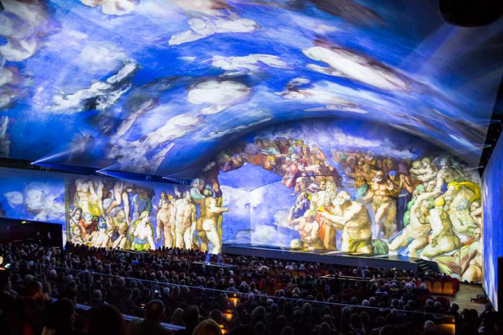 'Giudizio Universale: Michelangelo and the Secrets of the Sistine Chapel ' Claypaky ADB