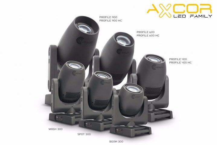 Claypaky Axcor Profile 400 & 600 Hepikos PLASA 2018