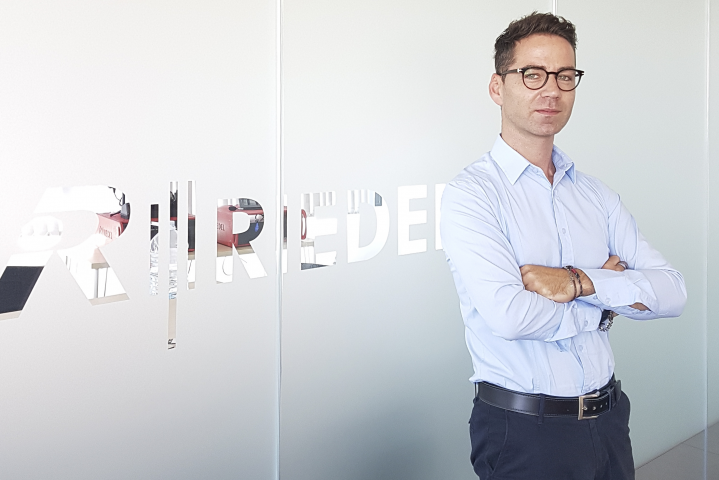 Riedel Italy Sales Manager Giuseppe Angilello