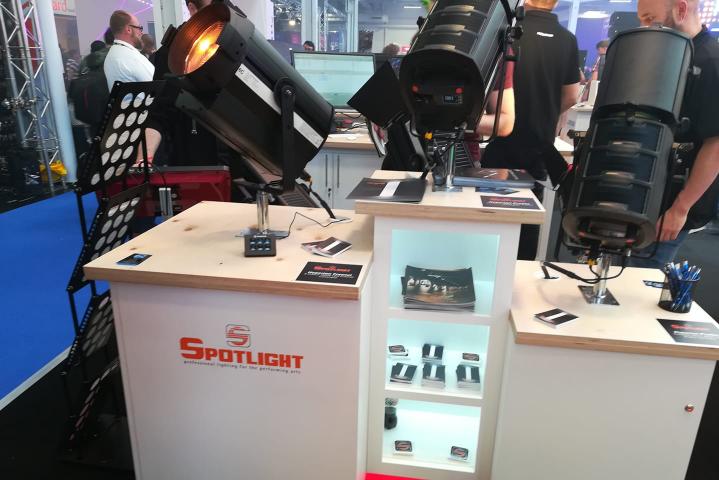Spotlight Hyperion LED PLASA 2018
