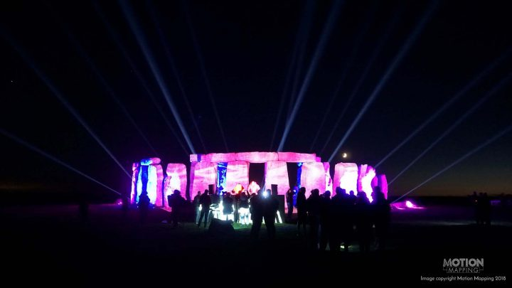 Green Hippo Motion Mapping Stonehenge Paul Oakenfold