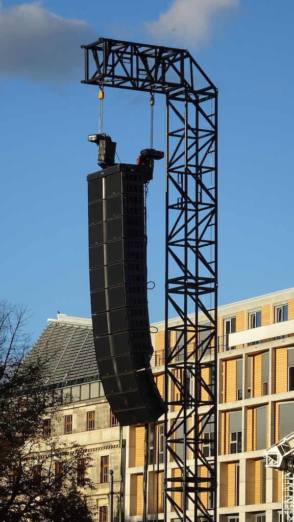 Area 4 Industries MILOS Steel Truss Tower German Unity Day Berlin