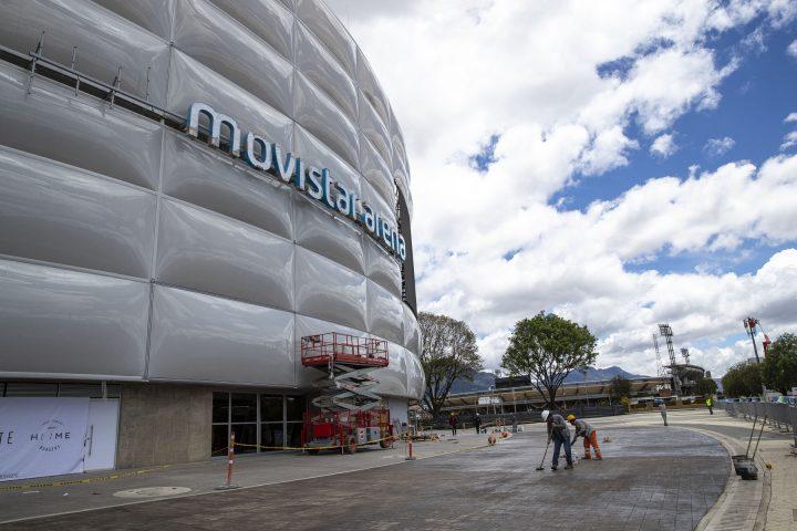 Linea Estrategica Movistar Arena Bogota