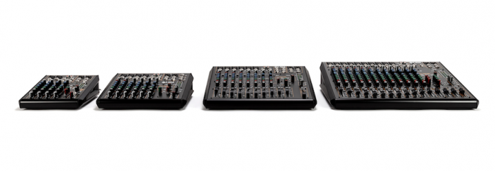 RCF F-Series Mixing Consoles
