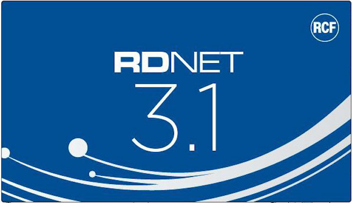 RCF RDNet 3.1 Released