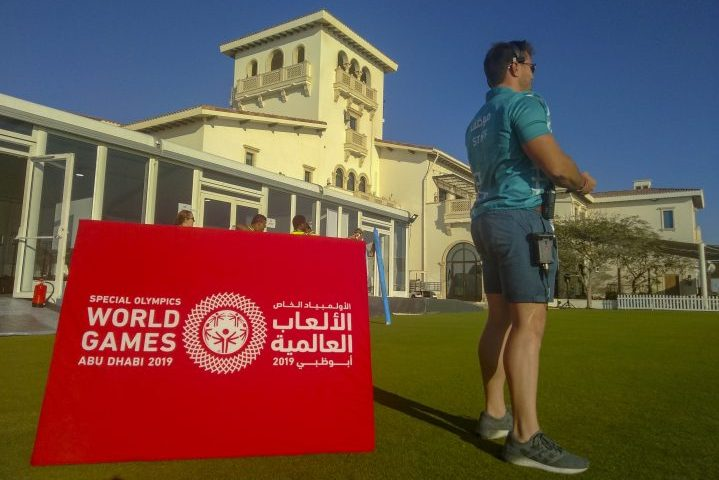 World Games Abu Dhabi Riedel Communications Special Olympics