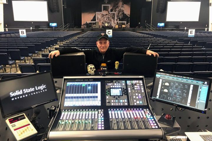 SSL The Cult Sonic Temple 30th Anniversary Tour