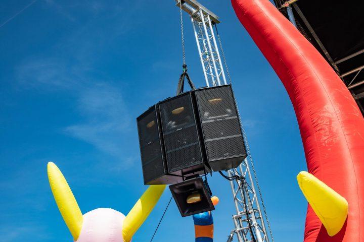 Pioneer Pro Audio XY Series Stavernfestivalen's CLUB STAGE