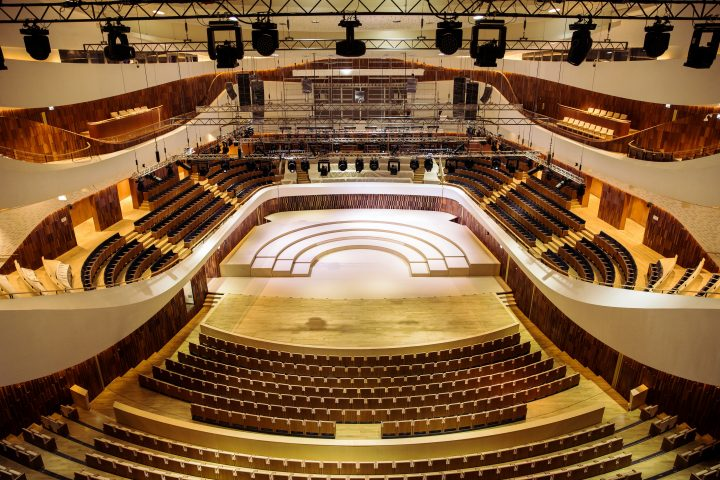 Claypaky Zaryadye Concert Hall Moscow