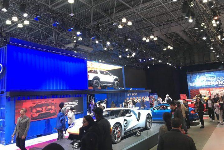 Broadweigh Bluetooth New York International Auto Show