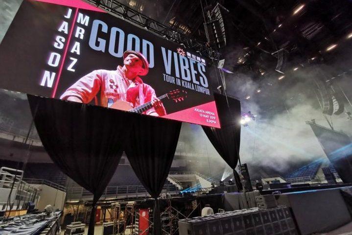 Jason Mraz Good Vibes Malaysia Powersoft Audio X8 X4L