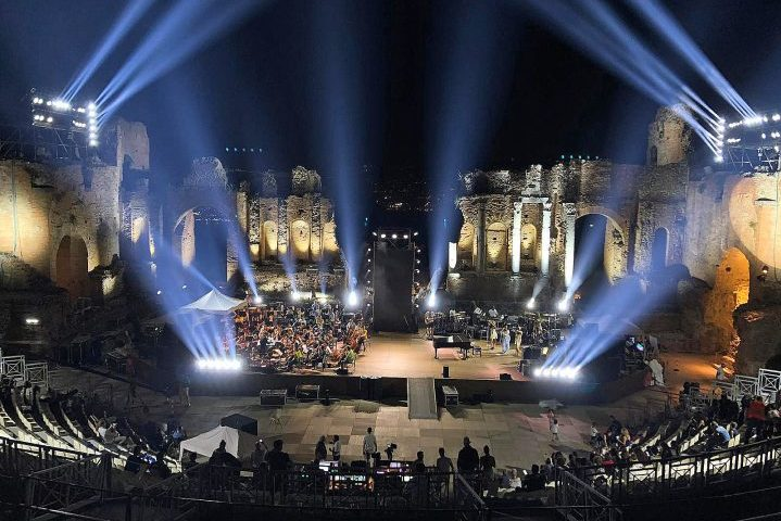 DTS Lighting John Legend Greek Theatre of Taormina