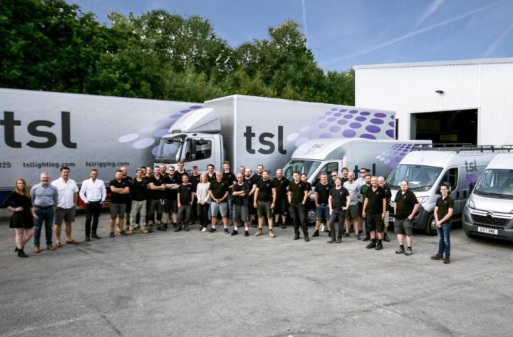 TSL Lighting Blinding Light Acquisition