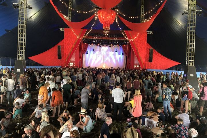 db audiotechnik Glastonbury 2019
