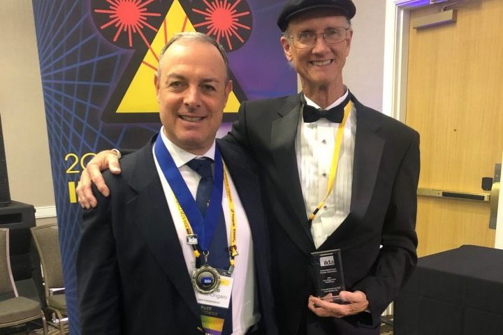 Alberto Kellner 2019 ILDA Career Award Laser Entertainment