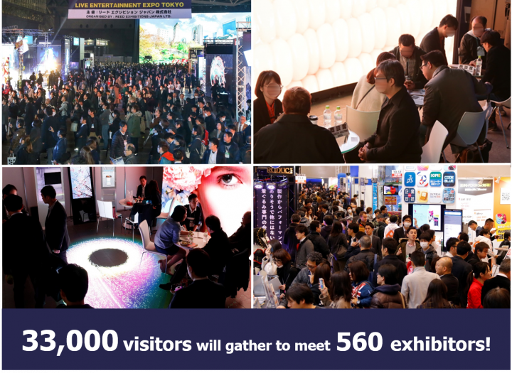 Live Entertainment Expo Tokyo 2020 2 Months to Go Free Registration