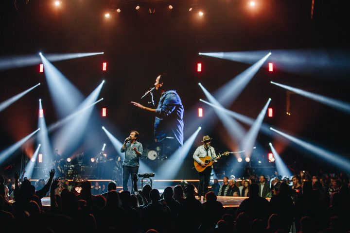 Casting Crowns, Hillsong, Elevation Tour Elation Professional