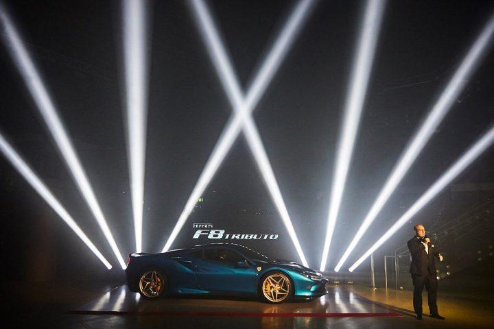 Claypaky Ferrari Gala Event Sharpy Stormy Mythos 2