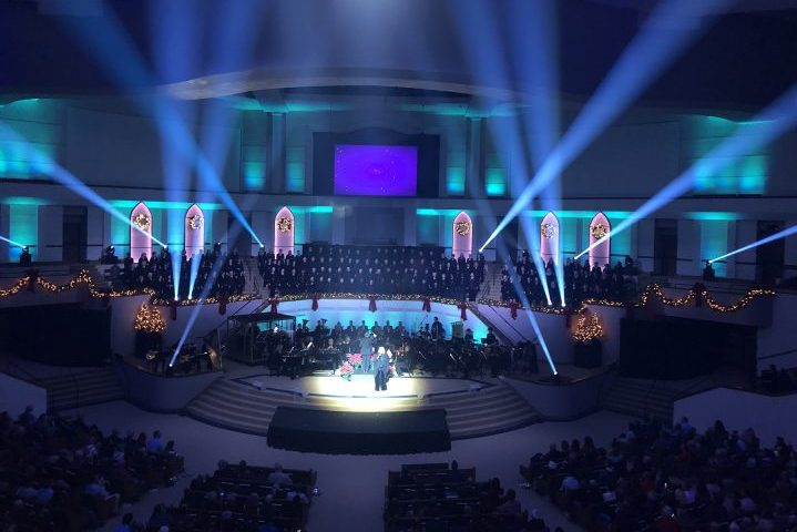 Olive Baptist Church Elation Professional LED Upgrade