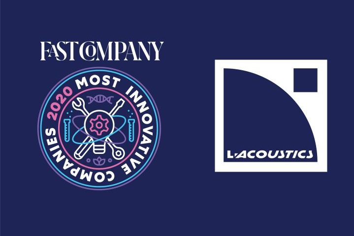 L-Acoustics Fast Company Most Innovative Companies 2020