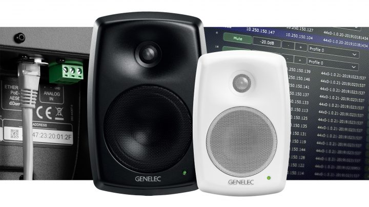 Audiologic Distribute Genelec UK